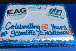 2018_08_09 ABC Labs 50th cake
